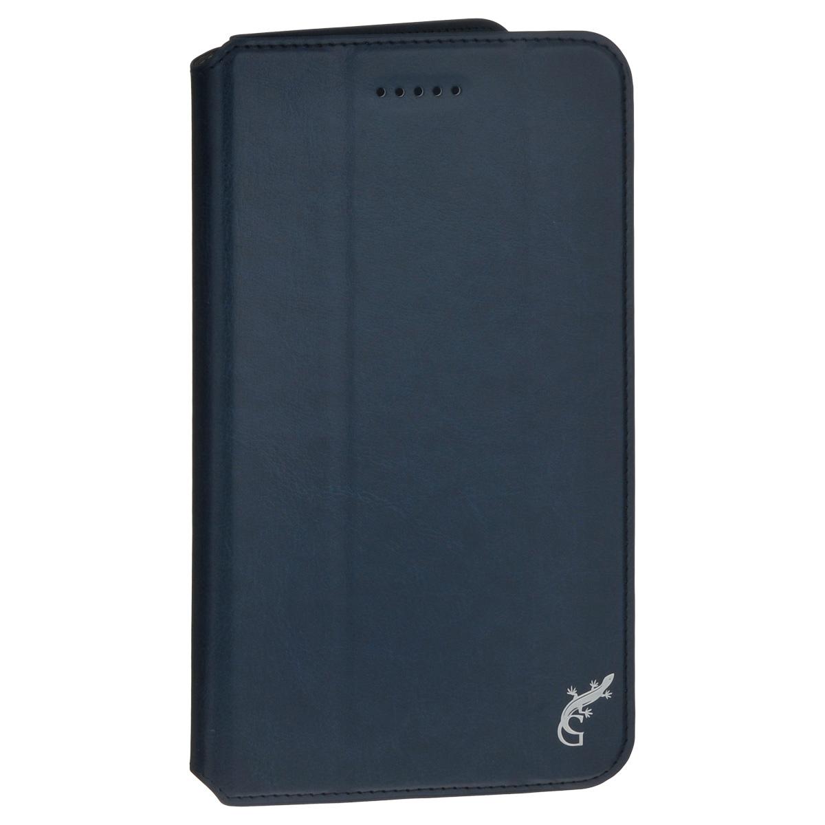 G-Case Executive чехол для Huawei MediaPad T1 7, Dark BlueGG-706Счастливые обладатели навороченных планшетов знают, как важно беречь устройство от негативных внешних и прочих механических воздействий. В противном случае можно довольно быстро расстаться с дорогостоящим гаджетом. Во избежание неприятных сюрпризов достаточно купить чехол G-Case Executive для Huawei MediaPad T1, чтобы наслаждаться своим смартфоном дома, на досуге или в дороге. Чехол-книжка тщательно продуман разработчиками для обеспечения максимальной защиты электронного устройства от пыли, влаги, грязи, ударов, падений, царапин и потертостей.