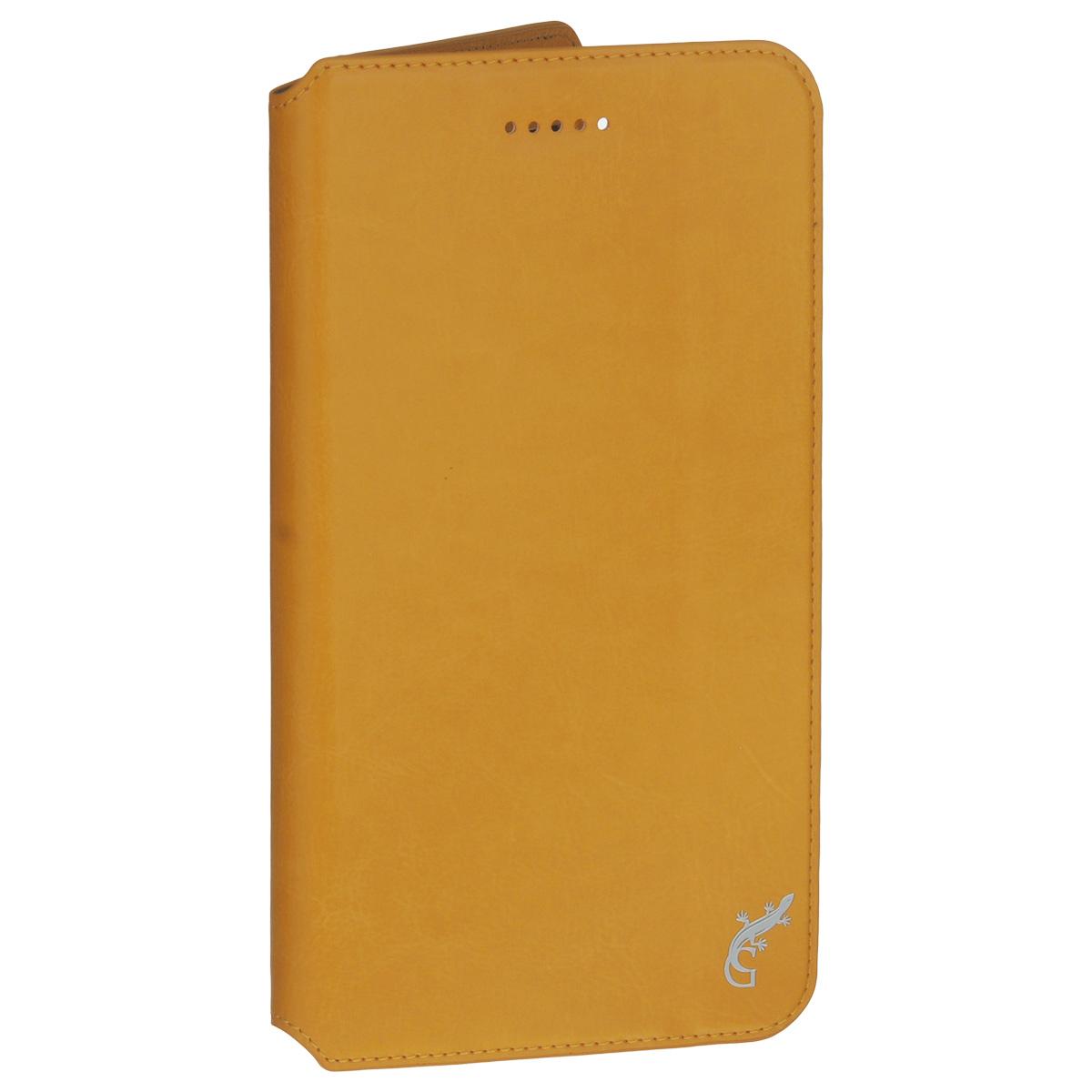 G-Case Executive чехол для Huawei MediaPad T1 7, OrangeGG-709Счастливые обладатели навороченных планшетов знают, как важно беречь устройство от негативных внешних и прочих механических воздействий. В противном случае можно довольно быстро расстаться с дорогостоящим гаджетом. Во избежание неприятных сюрпризов достаточно купить чехол G-Case Executive для Huawei MediaPad T1, чтобы наслаждаться своим смартфоном дома, на досуге или в дороге. Чехол-книжка тщательно продуман разработчиками для обеспечения максимальной защиты электронного устройства от пыли, влаги, грязи, ударов, падений, царапин и потертостей.