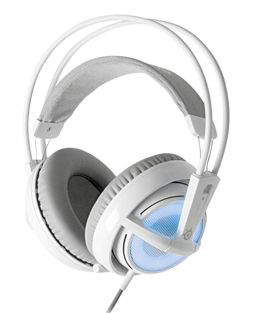 SteelSeries Siberia v2 Frost, White Blue наушники с микрофоном (51125 )51125
