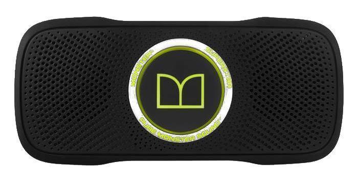 Monster SuperStar BackFloat, Black Green портативная акустическая система
