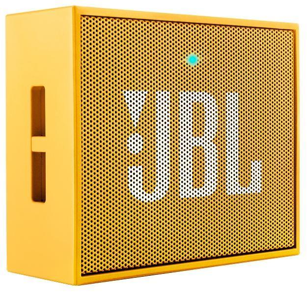 JBL GO, Yellow портативная акустическая система6925281903779Этот динамик является удобным решением все-в-одном. Он поддерживает Bluetooth, что позволяет подключать его к любым современным гаджетам, а встроенный аккумулятор подарит вам 5 часов музыки без перерыва. JBL GO также оснащен встроенным микрофоном с технологией шумоподавления, что позволяет вам общаться по телефону по громкой связи. Доступный в 8 ярких расцветках, в прорезиненном корпусе и фирменном стиле JBL, этот портативный динамик подойдет любому, кто любит качественный звук и портативность. GO оснащен креплением, за которое динамик можно прицепить к рюкзаку или одежде. Теперь вы можете никогда не расставаться с любимой музыкой.