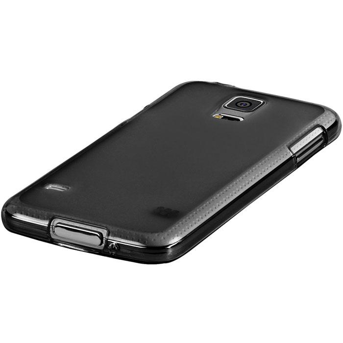 Promate Akton-S5 чехол-накладка для Samsung Galaxy S5, Black00007721Akton-S5 входит Цветную коллекцию Promate и предназначен исключительно для сохранения внешнего вида вашего Samsung Galaxy S5. Разнообразная красочная палитра добавит изюминку вашему телефону.