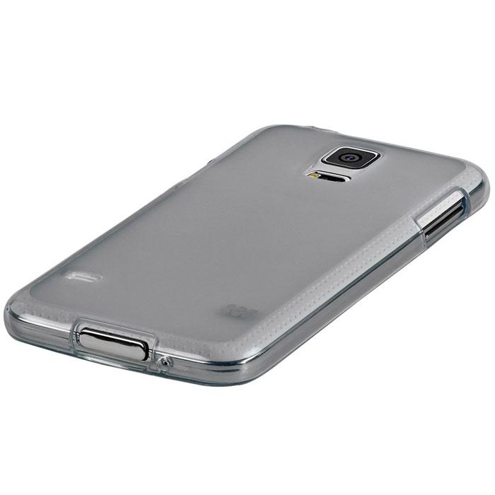 Promate Akton-S5 чехол-накладка для Samsung Galaxy S5, Grey00007894Akton-S5 входит Цветную коллекцию Promate и предназначен исключительно для сохранения внешнего вида вашего Samsung Galaxy S5. Разнообразная красочная палитра добавит изюминку вашему телефону.