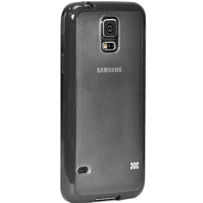 Promate Amos-S5 чехол-накладка для Samsung Galaxy S5, Black