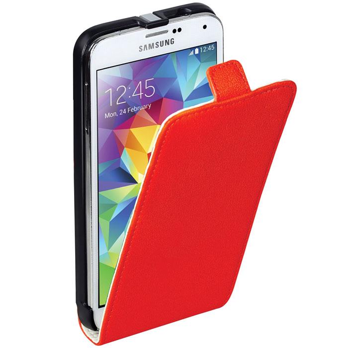 Promate Filion-S5 чехол для Samsung Galaxy S5, Red00007918Promate Filion-S5 - защитный чехол с вертикальной флип-крышкой, обеспечивающий оптимальную сохранность телефона от царапин и потертостей. Когда смартфон не используется, магнитный замок на кожаном язычке надежно фиксирует крышку и обеспечивает сохранность экрана. Также флип-крышка помогает использовать Filion-S5 как горизонтальную подставку для смартфона. Доступен в разных цветовых решениях, что позволяет выбрать чехол под ваш индивидуальный стиль. В комплекте с чехлом прилагается пленка для телефона.