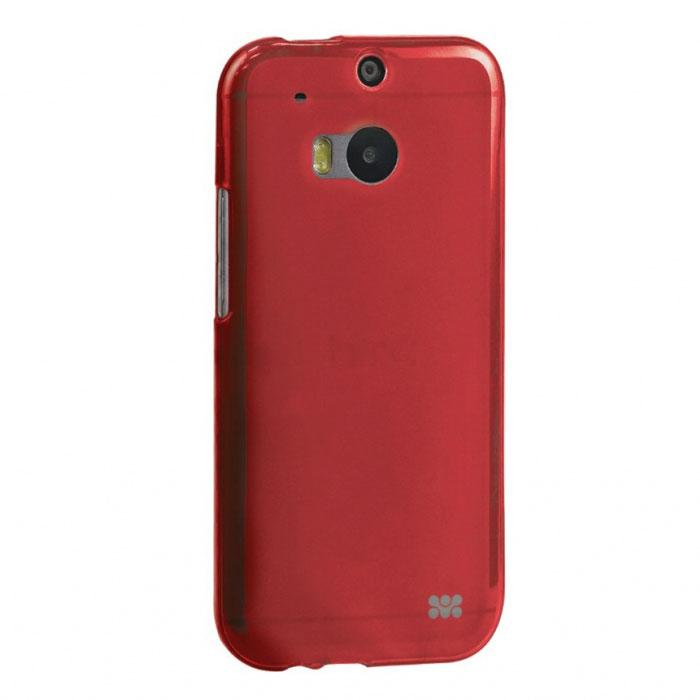 Promate Akton-M8 чехол-накладка для HTC One M8, Red00007756Чехол Promate Akton-M8 входит в цветную серию защитных накладок от компании Promate и предназначен исключительно для сохранения внешнего вида HTC One M8. Разнообразная красочная палитра при выборе накладки Akton M8 добавит яркости вашему телефону!