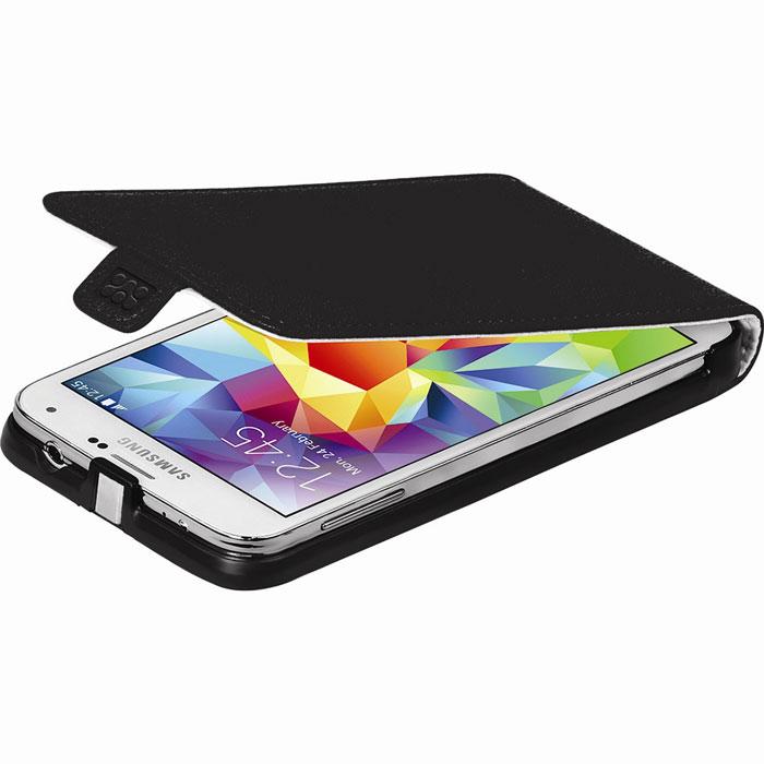 Promate Filion-S5 чехол для Samsung Galaxy S5, Black00007920Promate Filion-S5 - защитный чехол с вертикальной флип-крышкой, обеспечивающий оптимальную сохранность телефона от царапин и потертостей. Когда смартфон не используется, магнитный замок на кожаном язычке надежно фиксирует крышку и обеспечивает сохранность экрана. Также флип-крышка помогает использовать Filion-S5 как горизонтальную подставку для смартфона. Доступен в разных цветовых решениях, что позволяет выбрать чехол под ваш индивидуальный стиль.