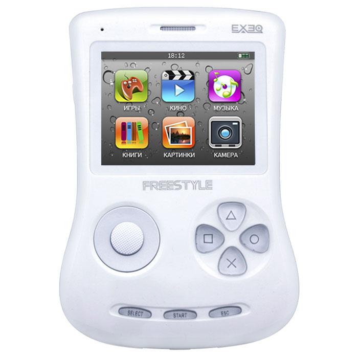 Игровая консоль EXEQ FreeStyle 2,7 (белая)