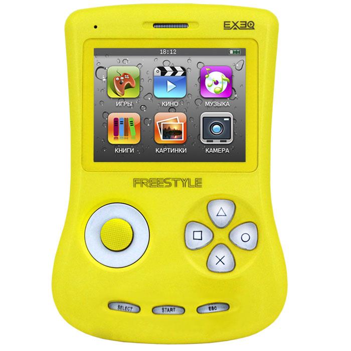 Игровая консоль EXEQ FreeStyle 2,7 (желтая)