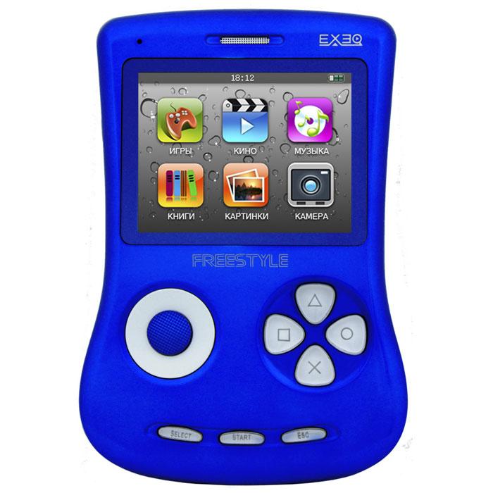 Игровая консоль EXEQ FreeStyle 2,7 (синяя)