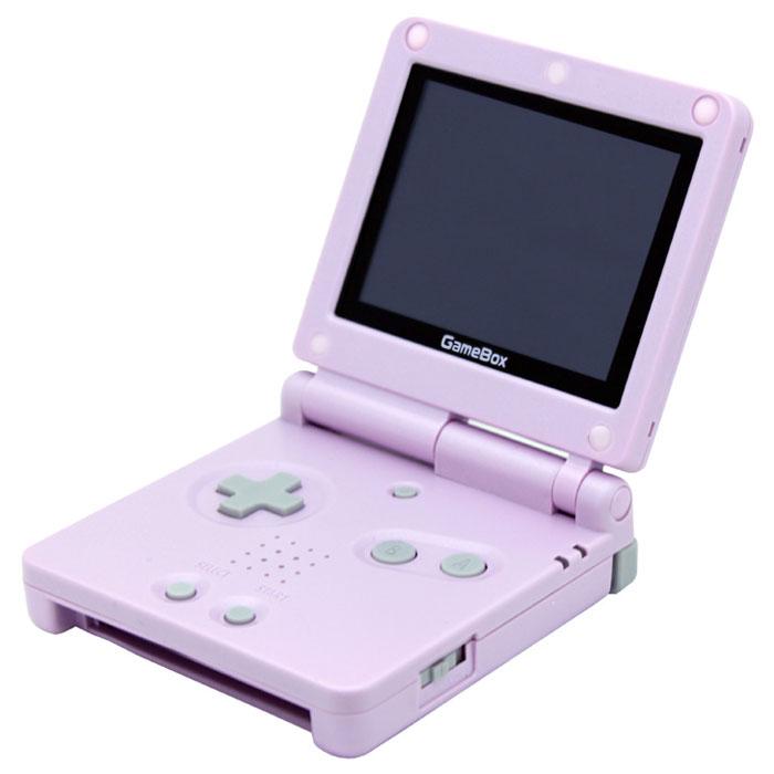Игровая консоль EXEQ GameBox 3 + игры (розовый)