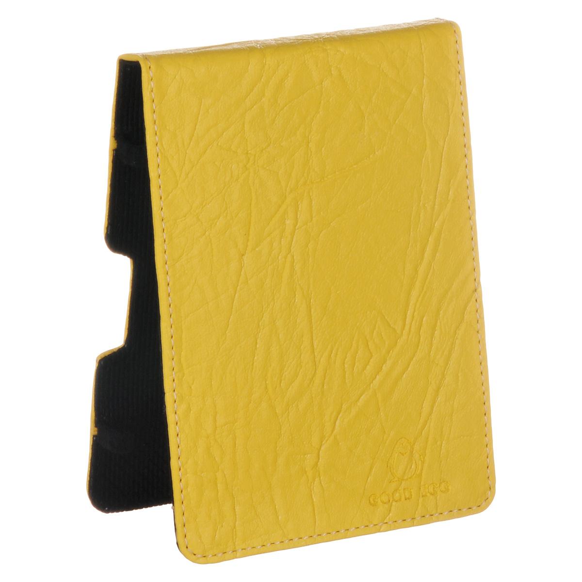 Good Egg Lira чехол для PocketBook 650, YellowGE-PB650LIR2224Чехол Good Egg Lira для электронной книги PocketBook 650 обеспечивает максимальную защиту экрана при транспортировке благодаря усиленной передней стороне. Он способен надежно защитить устройство от повреждений, повысить его сохранность во время путешествий и сделать более комфортным использование гаджета благодаря свободному доступу ко всем функциональным кнопкам.