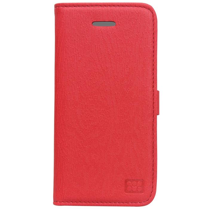 Promate Tava 5c чехол для iPhone 5c, Red00007888Promate Tava 5c - премиум чехол с флип крышкой, изготовленный из люксовой кожи специально для iPhone 5c. Он обеспечивает полную защиту вашего смартфона со всех сторон. Конструкция позволяет использовать чехол как горизонтальную подставку для iPhone 5 с. Дополнительный карман на внутренней стороне откидной крышки позволяет хранить пластиковые карты, визитки и другие аксессуары. Магнитный замок надежно прижимает крышку чехла в том время, когда телефон вам не используется и обеспечивает полную защиту iPhone 5c на весь срок его службы.