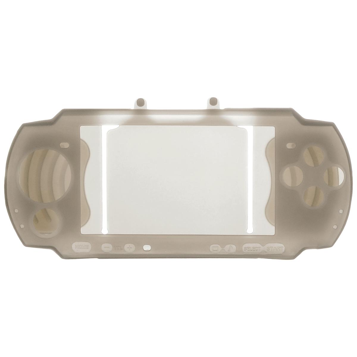 Силиконовый чехол Game Guru Silicon Case для PSP 3000 (серый)PSP3000-Y034Силиконовый чехол Game Guru Silicon Case для PSP 3000 - стильная и надежная защита из высококачественного материала. Чехол надежно защитит вашу приставку от внешних воздействий, грязи, царапин и потертостей. Чехол легко надевается и снимается, совместим со всеми версиями консоли PSP 3000. Легкий доступ ко всем портам и кнопкам позволяет использовать консоль не снимая чехол.