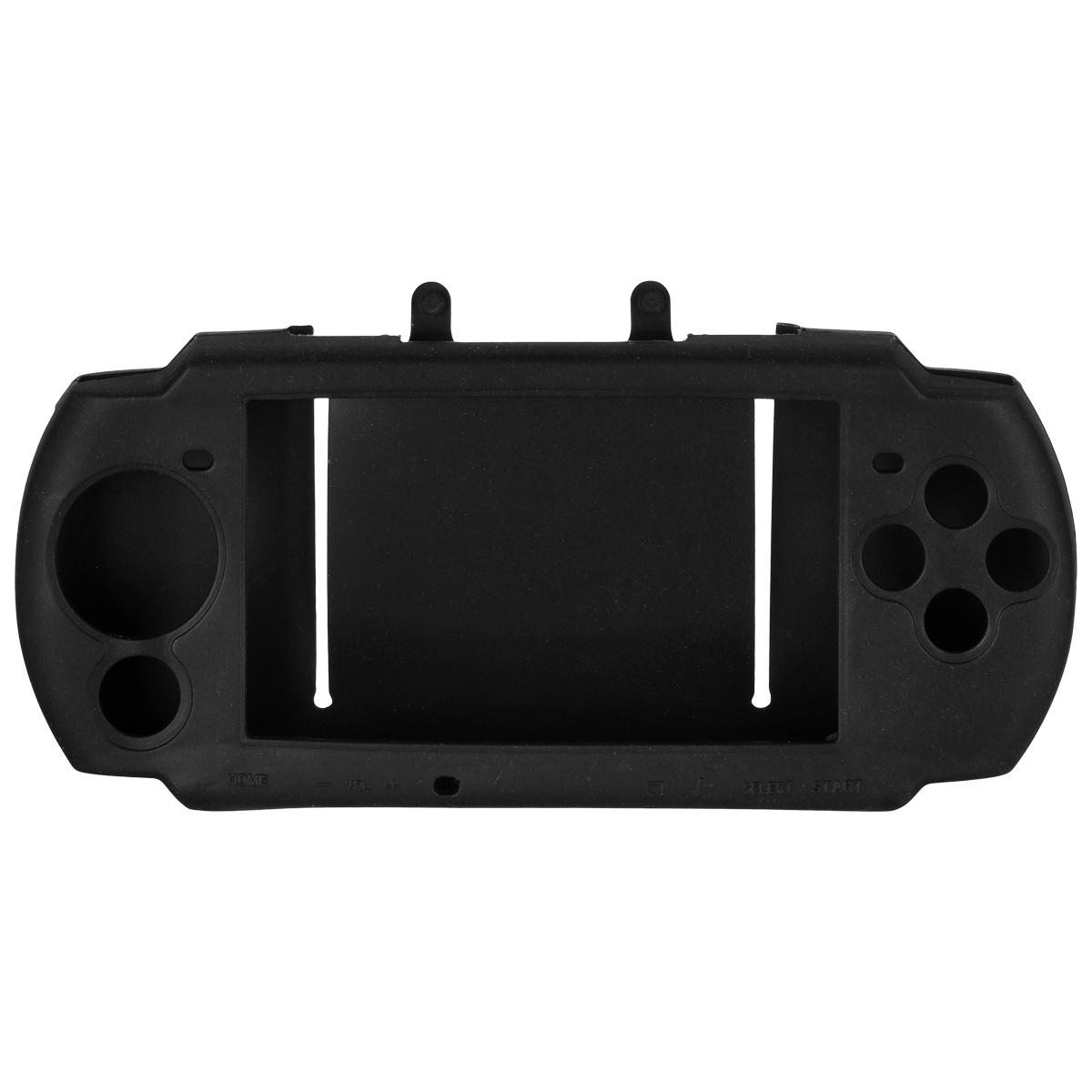 Силиконовый чехол Game Guru Silicon Case для PSP 3000 (черный)