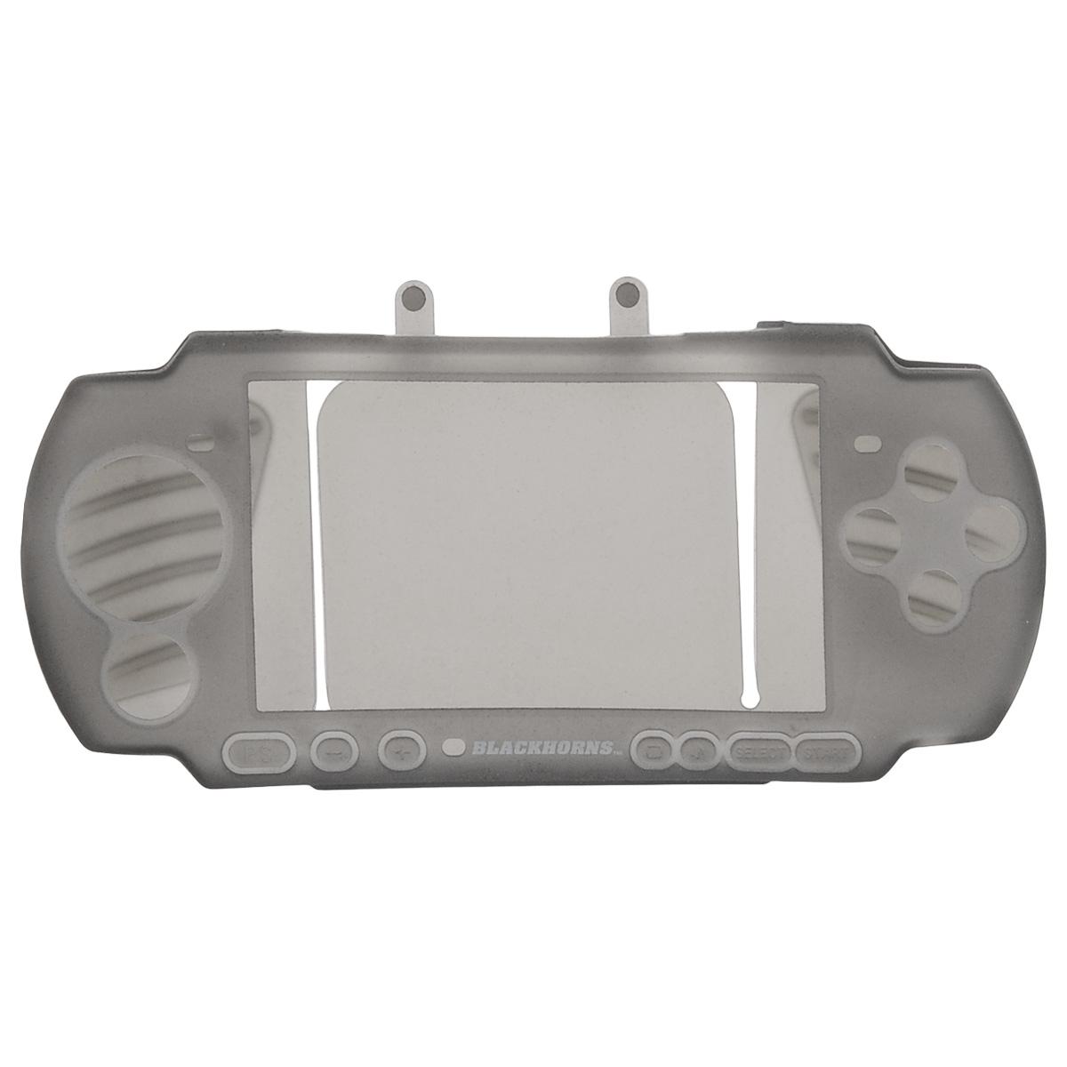 Black Horns Kit 3 in 1 набор аксессуаров для Sony PSP 3000, Gray
