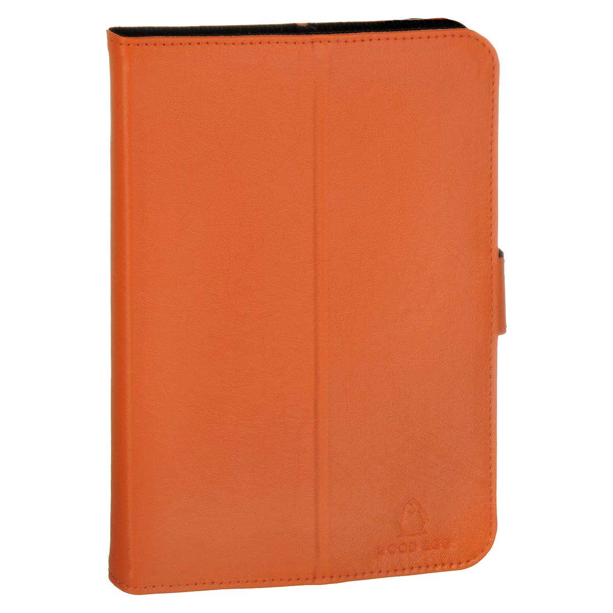 Good Egg Lira чехол для PocketBook SURFpad 4 L, OrangeGE-PB4970LIR2250Чехол Good Egg Lira для планшета PocketBook SURFpad 4 L обеспечивает максимальную защиту экрана при транспортировке благодаря усиленной передней стороне. Он способен надежно защитить устройство от повреждений, повысить его сохранность во время путешествий и сделать более комфортным использование гаджета благодаря свободному доступу ко всем функциональным кнопкам. Чехол легко трансформируется в подставку.