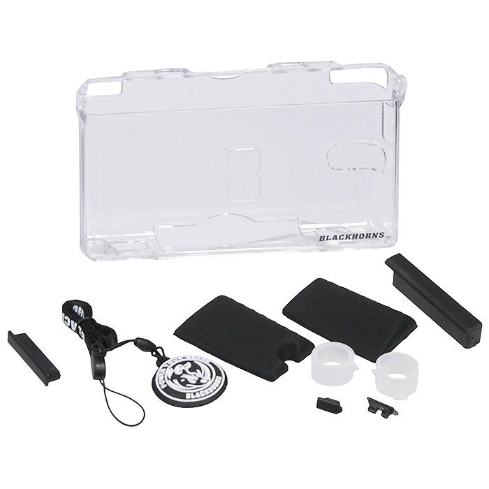 Black Horns Substantiality Kit набор аксессуаров для Nintendo DS Lite, цвет черный