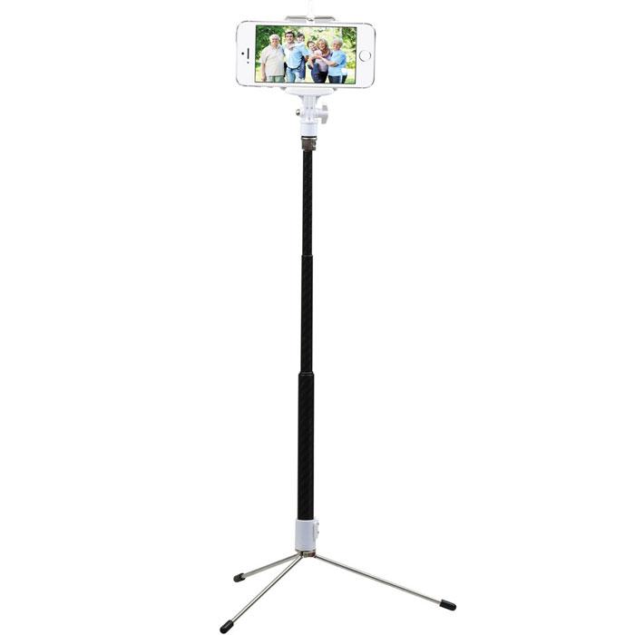 Promate snapShot беспроводной монопод для селфи00007616Сложности в поиске идеального угла для потрясающего selfie? Посмотрим правде в глаза: трясущиеся руки или случайные движения приводят к тому, что задуманная картинка получается размытой и некрасивой. Забудьте о нечетких фотографиях с мобильного телефона или цифровой камеры, используя выдвижной монопод с дистанционным управлением затвором камеры Promate snapShot. Теперь не надо никого просить сфоткать вас, или же сожалеть, что на групповом памятном снимке вас не будет потому, что вы, собственно, фотографировали! Возьмите монопод с собой и радуйте себя и близких отличными фотографиями! 80 см выдвижная ручка для selfies Стабилизатор фотографий Крепление для смартфонов включено в комплект Встроенное крепление для фотоаппаратов Быстрая опция сопряжения Встроенная функция затвора камеры Портативный и удобный к использованию Совместим с iOS и Android устройствами (функция zoom в iOs не поддерживается) Емкость встроенной батареи:...