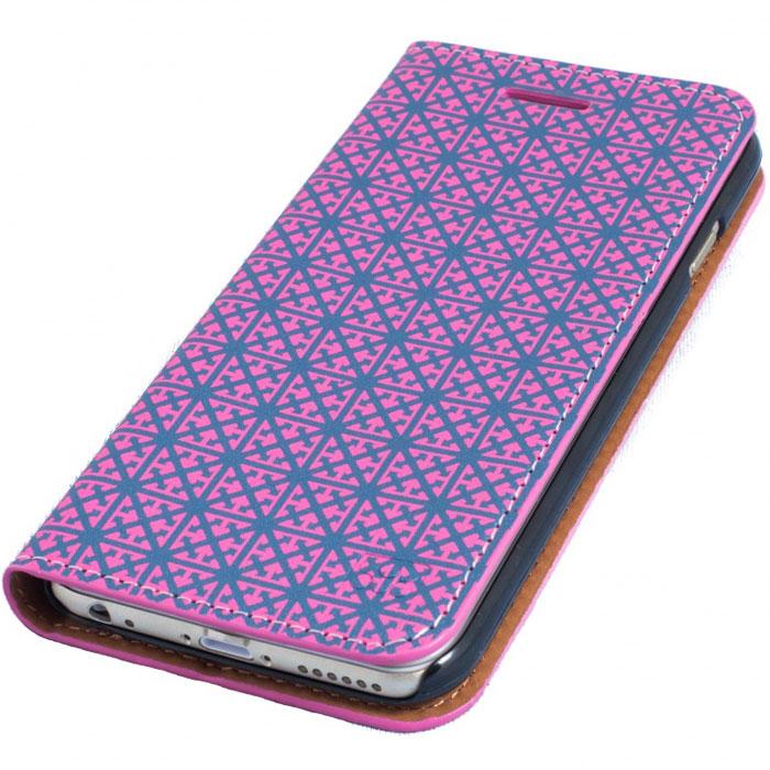 Promate Rouge-i6 чехол для iPhone 6, Pink00008253Promate Rouge-i6 обеспечивает ваш iPhone 6 великолепную защиту. Благодаря продуманному дизайну этот чехол можно сложить в удобную подставку, например, для просмотра клипов или фильмов на вашем смартфоне. Разработанный специально для iPhone 6 он обеспечивает прекрасный доступ к разъему для наушников, порту зарядки телефона, камере и динамику. Стильная защита от Promate!