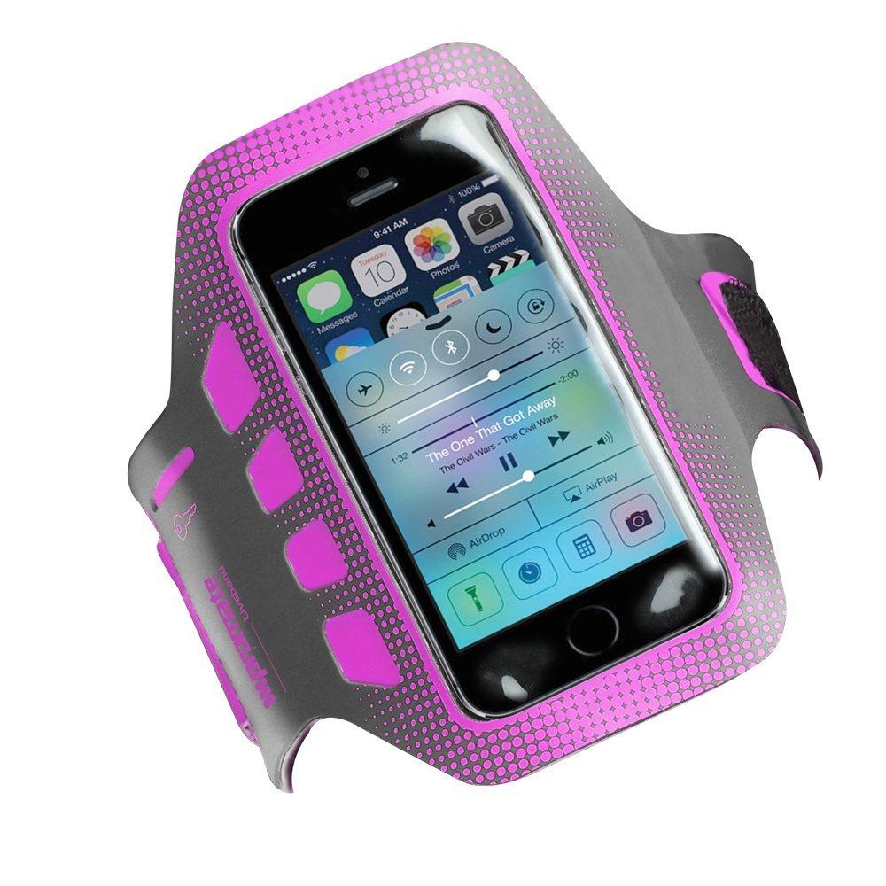 Promate Liveband чехол для iPhone 5/5s, Grey00007848Чехол Promate Liveband для iPhone 5/5s - аксессуар, который должен иметь каждый человек, кто занимается спортом, вне зависимости, что это за вид спорта: гимнастика, бег, упражнения в зале и т.д. Этот удобный и очень легкий чехол предохранит ваш смартфон от любого вида повреждений, падений, ударов, царапин, пота и капель воды. Liveband сделан из легковесного материала и крепится на любое предплечье, как широкое, так и узкое. А это значит, что ваши руки всегда будут свободными, а телефон - доступным. Чехол также оснащен специальным кармашком для ключей. Идите и занимайтесь спортом с вашим Liveband!