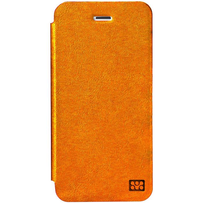 Promate Slant-i6 чехол для iPhone 6, Orange00008260Promate Slant-i6 представляет собой тонкий кожаный чехол, обеспечивающий оптимальную защиту вашему новому iPhone 6. Передняя поверхность прекрасно защищает экран, когда телефон не используется, а также может служить удобное горизонтальной подставкой. Жесткая оснастка внутри надежно удерживает ваш телефон внутри, а мягкое покрытие защищает экран телефона от царапин. Доступен в разных цветовых решениях.