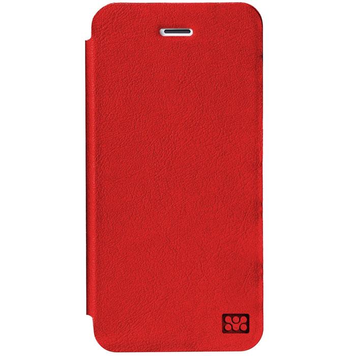 Promate Slant-i6 чехол для iPhone 6, Red00008261Promate Slant-i6 представляет собой тонкий кожаный чехол, обеспечивающий оптимальную защиту вашему новому iPhone 6. Передняя поверхность прекрасно защищает экран, когда телефон не используется, а также может служить удобное горизонтальной подставкой. Жесткая оснастка внутри надежно удерживает ваш телефон внутри, а мягкое покрытие защищает экран телефона от царапин. Доступен в разных цветовых решениях.