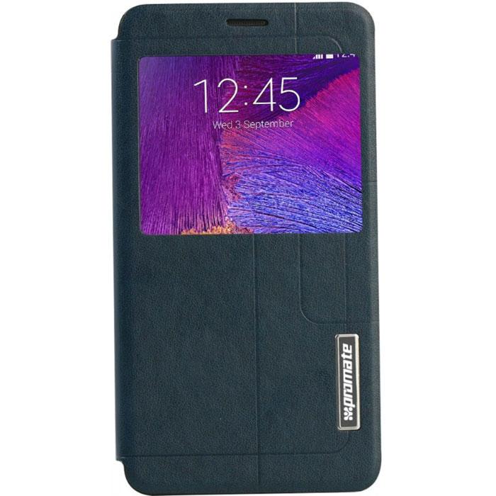 Promate Tama-N4 чехол для Samsung Galaxy Note 4, Blue00008365Чехол Promate Tama-N4 привлечет ваше внимание с первого взгляда: удобный, практичный, стильный! Внутренняя оснастка удерживает Galaxy Note 4 аккуратно, но в тоже время очень надежно. Передняя крышка фиксируется удобным магнитным замком. Tama-N4 поддерживает опцию горизонтальной установки смартфона для удобного просмотра информации или видео, а наличие внутреннего отделения для карточек делает этот чехол действительно многофункциональным. Прозрачный сенсорный экран делает использование вашего Galaxy Note 4 много удобней и практичней. Доступен в нескольких цветовых решениях.