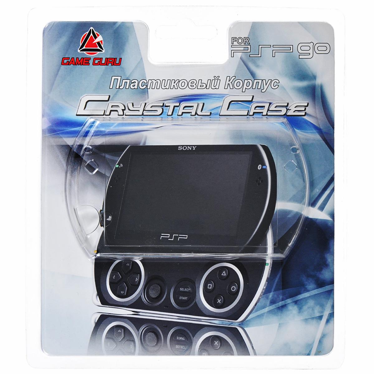 Пластиковый корпус Game Guru Crystal Case для Sony PSP GO (PSPGO-Y047)