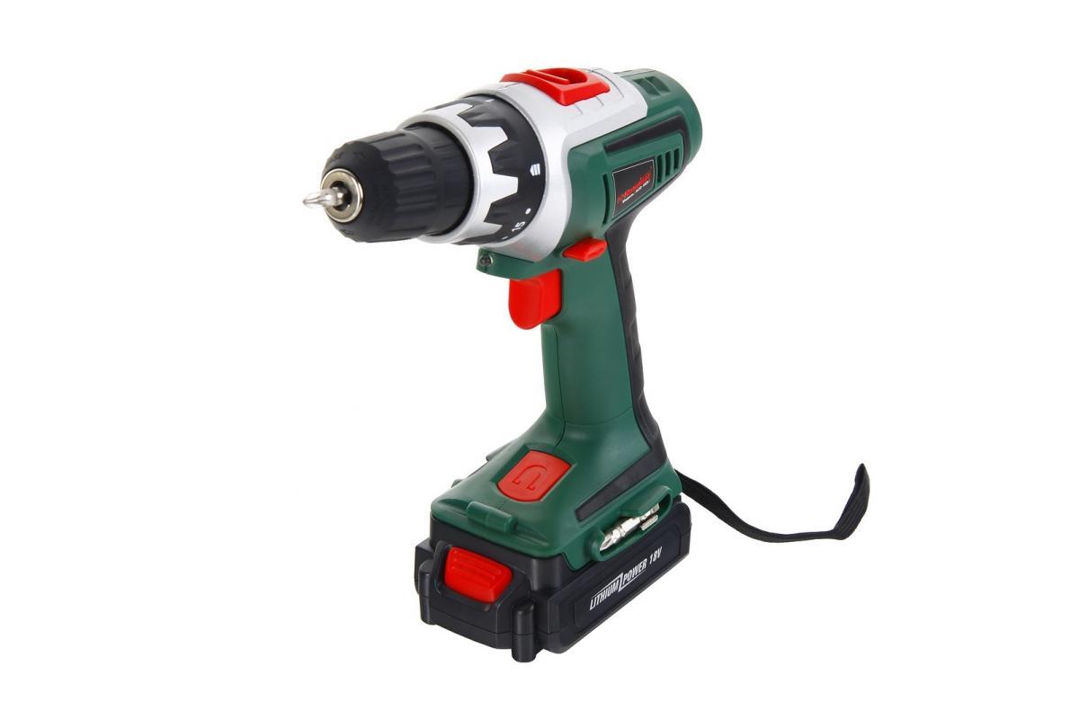 Дрель-шуруповерт Hammer ACD182LiAcd182liДрель-шуруповерт аккумуляторная Hammer ACD182Li представляет собой универсальный ручной инструмент, который предназначен для осуществления разнообразных работ, в частности, сверления, и закручивания/раскручивания крепежных материалов. Практически все современные дрели-шуруповерты оснащены регулировкой скорости оборотов. Это достаточно распространенная комплектация, которая позволяет использовать данный вид электроинструмента в самых различных сферах, как в бытовых условиях, так и в строительстве. Двухскоростной аккумуляторный шуруповерт Hammer ACD182Li предназначен для осуществления операций сверления/закручивания в материалах различной твердости. Его компактные габариты позволяют производить комплекс работ в ограниченных условиях. Благодаря проработанному износостойкому корпусу, модель защищена от воздействия ударов и не подвержена коррозии. Малогабаритный Hammer ACD182Li комплектуется Li-Ion аккумуляторами, что существенно увеличивает ...