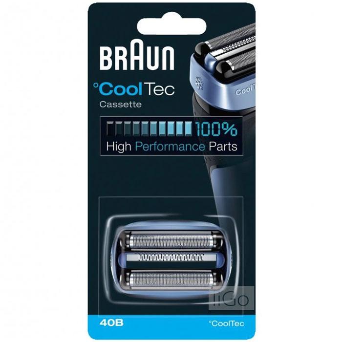 Braun 40B сетка + режущий блок для бритв CoolTec