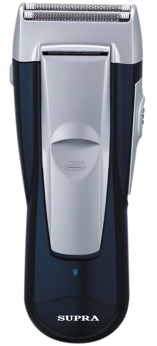 Supra RS-202 электробритваRS-202Электробритва Supra RS-202 предназначена для сухого и влажного бритья. Двойная бритвенная система и плавающая головка позволит срезать даже мельчайшие волоски. Напряжение питания: 220 - 240 В Время зарядки: 8 ч Двойная система бритья Способ бритья: сухое / влажное