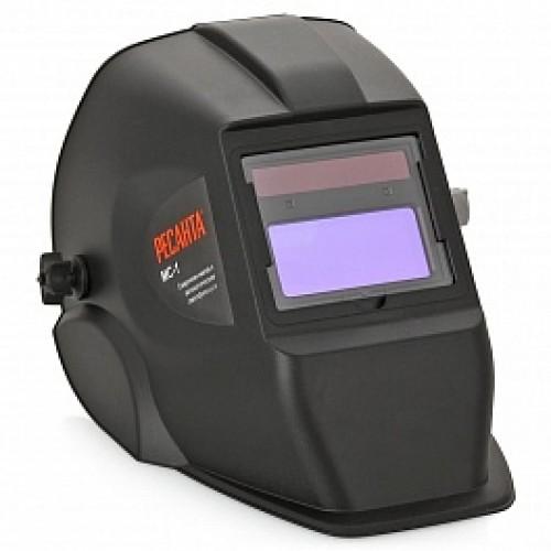 Маска сварщика Ресанта МС-1, цвет: черный