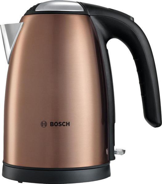Bosch TWK 7809 электрический чайникTWK7809Чайник- это бытовая техника, которая нужна в каждом доме, поэтому выбор этого устройства всегда очень ответственный. Bosch TWK 7809 обладает многими полезными функциями, которые будут практичны в быту. Он поможет Вам быстро и качественно вскипятить питьевую воду. Он примечателен своим дизайном, поэтому прекрасно дополнит Вашу кухню. Прибор придется по нраву самым взыскательным пользователям. Красивая поверхность и корпус из нержавеющий стали обеспечат Вам надежность и долговечность в использовании. Объем чайника составляет 1,7 л.