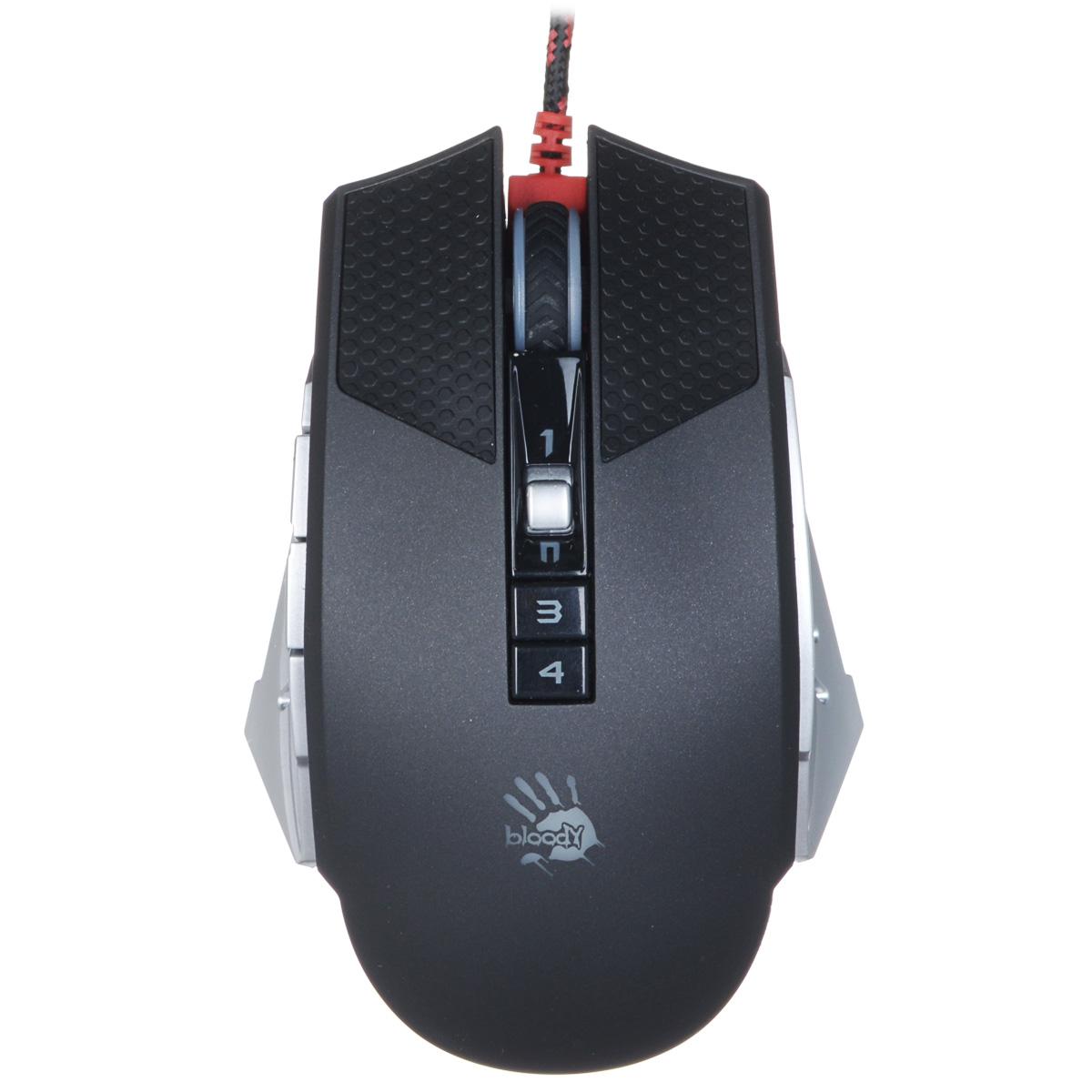 A4Tech Bloody T60 Winner, Black Grey игровая мышь