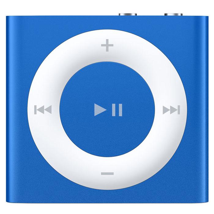 Apple iPod Shuffle 2 GB, Blue MP3-плеерMKME2RU/AЯркий и удобный плеер iPod shuffle 5 поколения с функцией VoiceOver, плейлистами и снова с кнопками! Гладкий полированный алюминий и семь ярких цветов. Корпус нового iPod shuffle выполнен из цельного листа алюминия и отполирован до блеска - поэтому он производит впечатление прочности и изящества. Также он выпускается в разных цветах и может стать отличным модным аксессуаром. Выберите свой цвет: темно-серый, серебристый, фиолетовый, розовый, желтый, голубой или зеленый. Сотни песен, чтобы взять в дорогу: Любимые мелодии всегда будут с Вами. Благодаря аккумулятору, который работает 15 часов без подзарядки, и памяти объёмом 2 ГБ на iPod shuffle умещаются сотни песен. На нём хватит места для всех песен, которые Вы любите слушать в дороге или во время тренировок. А также для множества плейлистов, миксов Genius и подкастов. Держится за своё место: iPod shuffle не просто портативен. Его можно носить на одежде. Он надёжно крепится к...