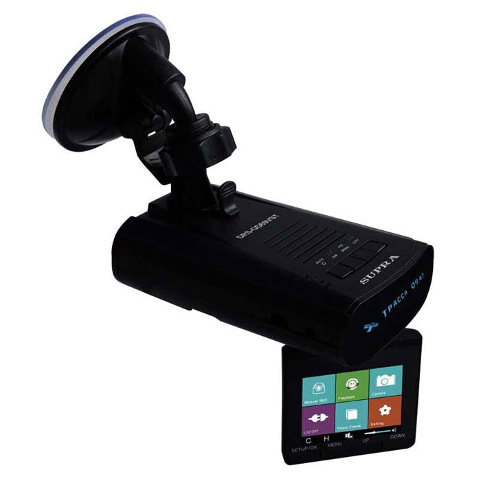 Supra DRS-GD69VST радар-детектор с GPS-приемником и видеорегистратором