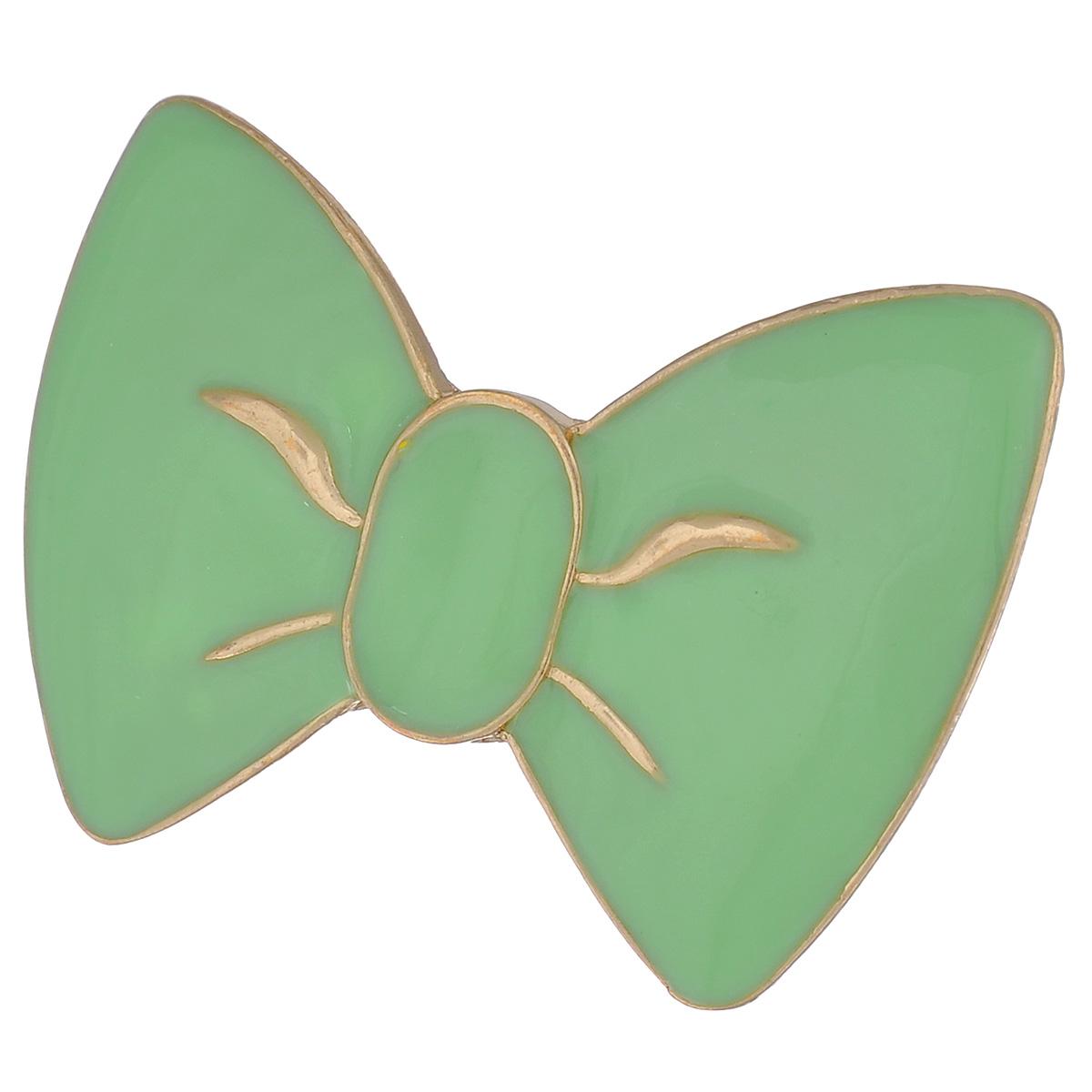 Кольцо Avgad, цвет: золотистый, светло-зеленый. EA178JW163EA178JW163Стильный аксессуар не оставит равнодушными истинных модниц! Размер кольца = Безразмерное