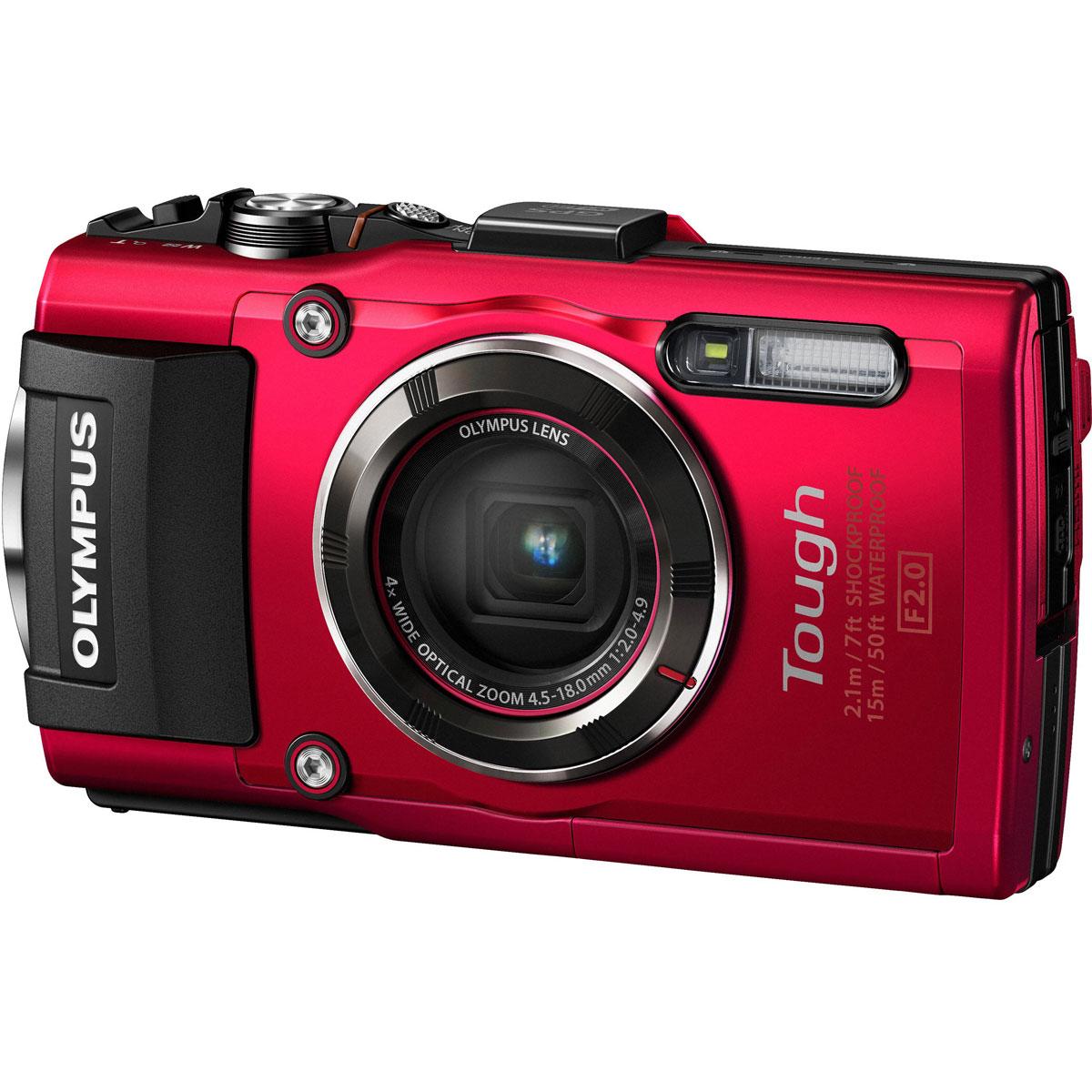 Olympus TG-4, Red цифровая фотокамераV104160RE000Будь то коралловые рифы, разломы или морская жизнь, камера Olympus TG-4 всегда с вами. Эта цифровая камера с защитой от брызг, отлично работающая на высшем уровне даже в глубинах океана. Невероятная светосила 1:2.0 высокоскоростного объектива позволяет делать захватывающие, яркие снимки моря во время дайвинга или снорклинга. Камера Olympus TG-4 всегда готова к приключениям: пересеченная гористая местность при отрицательной температуре, снег, песчаная буря, темные, густые леса. Интеллектуальная система заглушек позволяет Olympus TG-4 работать в самых экстремальных условиях в любой точке мира. Камера Olympus TG-4 достаточно мощная, чтобы запечатлеть всё, что может предложить природа. Используйте один из четырех возможных режимов макро-съемки, например, уникальный режим следящего фокуса, чтобы отразить свою креативность. Приблизьтесь на максимально близкое расстояние к насекомым, цветам и снежинкам, чтобы сфотографировать их с невероятной четкостью в...
