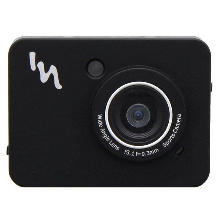TNB SPCAMFHD, Black экшн камераSPCAMFHDTNB SPCAMFHD - компактная и надежная экшн-камера для любителей экстремального спорта. Данная модель позволит вам заснять свои приключения в разрешении Full HD 1080p при помощи 12 Мпикс камеры со CMOS- матрицей. Камера также успешно работает и фото-режиме. Сенсорный дисплей и интуитивно удобное управление обеспечит максимальный комфорт при съемке и просмотре. Для хранения ваших видеороликов и фотографий имеется поддержка карт памяти формата MicroSD. Питание устройства осуществляется при помощи литиевой батареи на 300 мАч. Продолжительность автономной работы составляет около двух часов.