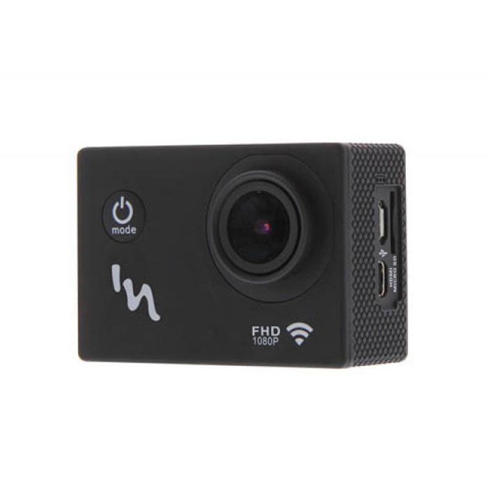 TNB SPCAMWIFI, Black экшн камера с Wi-FiSPCAMWIFITNB SPCAMWIFI - компактная и надежная экшн-камера с модулем Wi-Fi для любителей экстремального спорта. Данная модель позволит вам заснять свои приключения в разрешении Full HD 1080p при помощи пятимегапиксельной камеры со CMOS-матрицей. Камера также успешно работает и фото-режиме. Сенсорный дисплей и интуитивно удобное управление обеспечит максимальный комфорт при съемке и просмотре. Для хранения ваших видеороликов и фотографий имеется поддержка карт памяти формата MicroSD. Питание устройства осуществляется при помощи литиевой батареи.