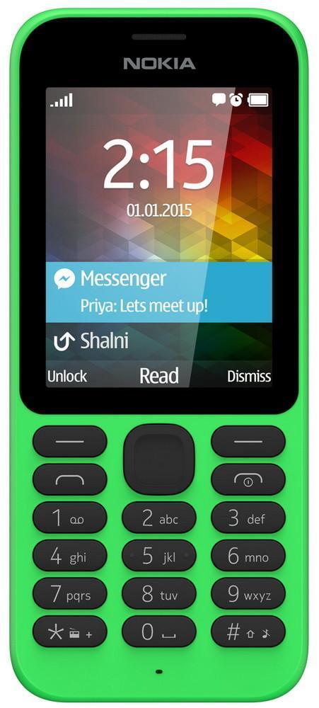 Microsoft Nokia 215 Dual Sim, Green