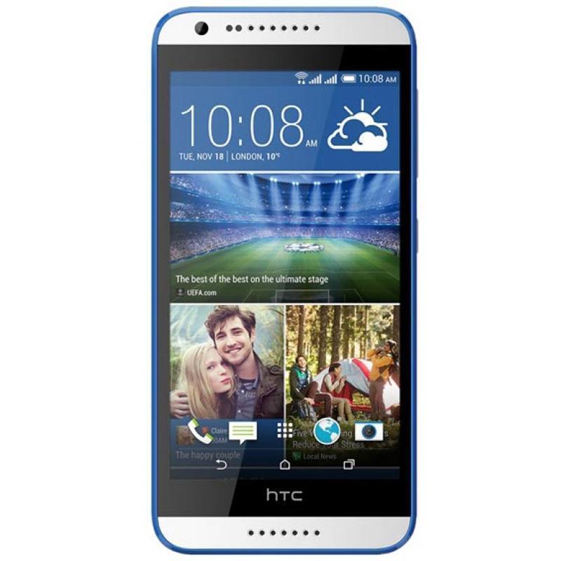 HTC Desire 620G Dual Sim, White Blue99HADC021-00Окунитесь в мир невероятной четкости изображения и высокой производительности с HTC Desire 620G dual sim. Уникальный дизайн смартфона поможет подчеркнуть вашу индивидуальность, а большой HD-дисплей, две камеры, мощный процессор и поддержка двух SIM-карт - справиться со всеми поставленными задачами Приготовьтесь насладиться реалистичным и четким изображением, которого вы еще не видели. Смартфон оснащен 5-дюймовым HD-экраном, который воспроизводит мельчайшие детали ваших фото и видео. Дисплей отображает широкий спектр цветов и оттенков, которые максимально приближены к реальной жизни. HTC Desire 620G dual sim - действительно мощный смартфон. Его 8-ядерный процессор заслуживает самых высоких похвал. Играйте, развлекайтесь, обменивайтесь информацией, просматривайте сайты - только теперь очень быстро и с впечатляющей графикой.