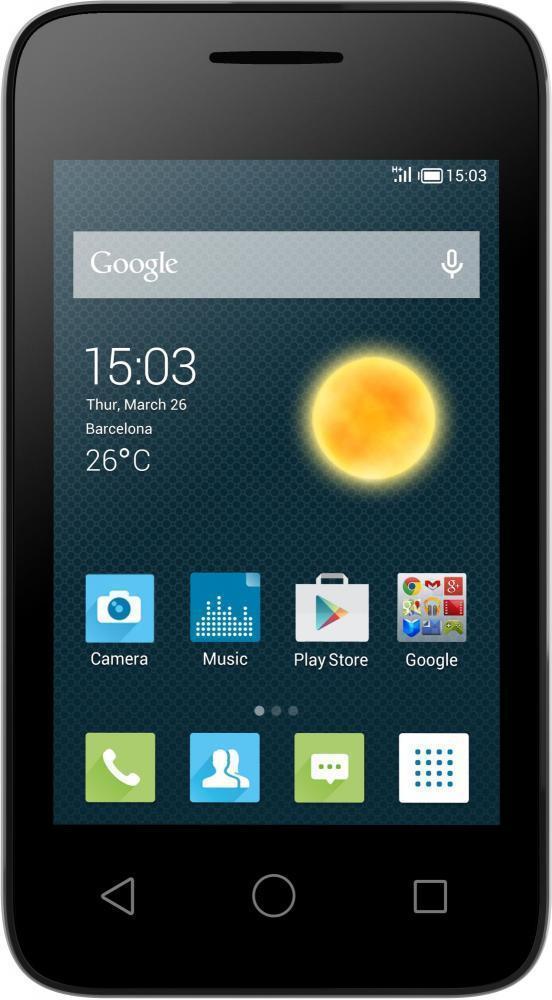 Alcatel OT-4009D Pixi 3 Dual, Black ( 4009D-2AALRU1 )