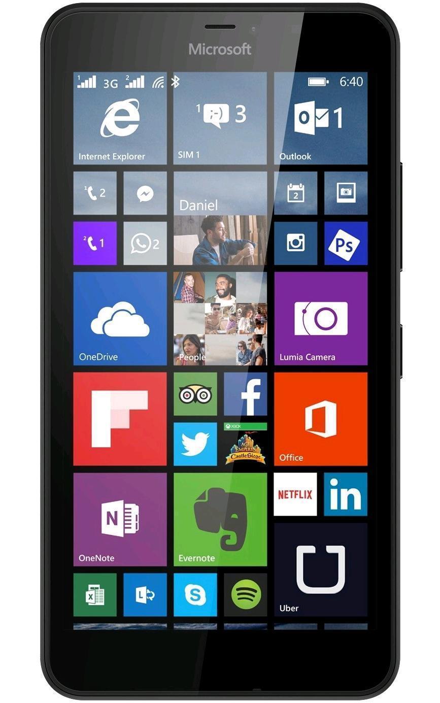 Microsoft Lumia 640 LTE Dual Sim, Black ( A00024769 )