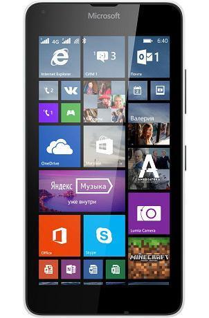 Microsoft Lumia 640 LTE Dual Sim, White ( A00024772 )