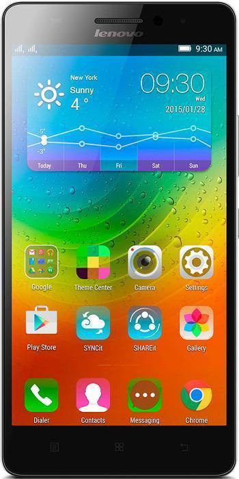 Lenovo A7000, WhitePA030010RULenovo A7000 - первый в мире смартфон с поддержкой новейшей технологии Dolby Atmos, обеспечивающей высочайшее качество и насыщенность звука. Благодаря объемному звуку вы сможете открыть новые грани музыки, видео, игр и даже видеочатов. Процессор MediaTek 4G LTE True8Core отличается широкими мультимедийными возможностями и поддерживает функции энергосбережения, продлевающие время работы от аккумулятора. 2 ГБ оперативной памяти обеспечивают высочайшую производительность любых программ. 5,5-дюймовый дисплей смартфона Lenovo A7000 отличается кристально четким качеством изображения в играх, при обмене сообщениями, просмотре видео и веб-серфинге. Он основан на технологии IPS, обеспечивающей широчайшие (почти 180°) углы обзора, поэтому отлично подойдет для просмотра фильмов вместе с друзьями. A7000 оснащен задней камерой 8 Мпикс с автоматическим фокусом и фронтальной камерой 5 Мпикс - вы сможете снимать отличные фотографии и селфи, а также мгновенно...