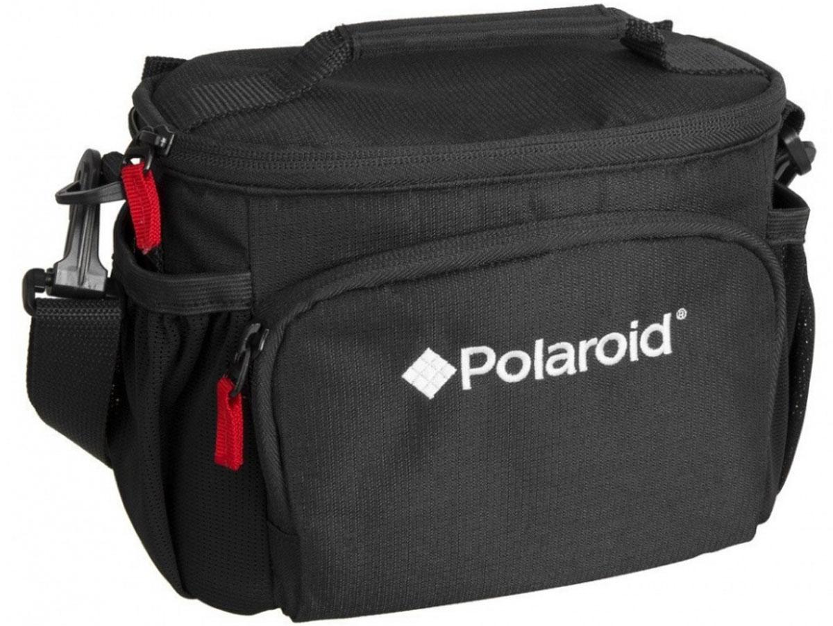 Polaroid JOZ 36 Compact SLR Case сумка для фотокамерыPLJOZ36Сумка Polaroid JOZ 36 Compact SLR Case вмещает компактный фотоаппарат DSLR с объективом до 3.5 или беззеркальную камеру с объективом , дополнительный объектив, вспышку, аксессуары. Регулируемые мягкие делители обеспечивают защиту от ударов, а передний карман вмещает карты памяти, аккумуляторы и другие мелкие предметы. Боковые карманы из сетки идеально держат телефон или Ipod. Регулируемый, съемный плечевой ремень и ручка для переноски обеспечивает удобные варианты переноски.