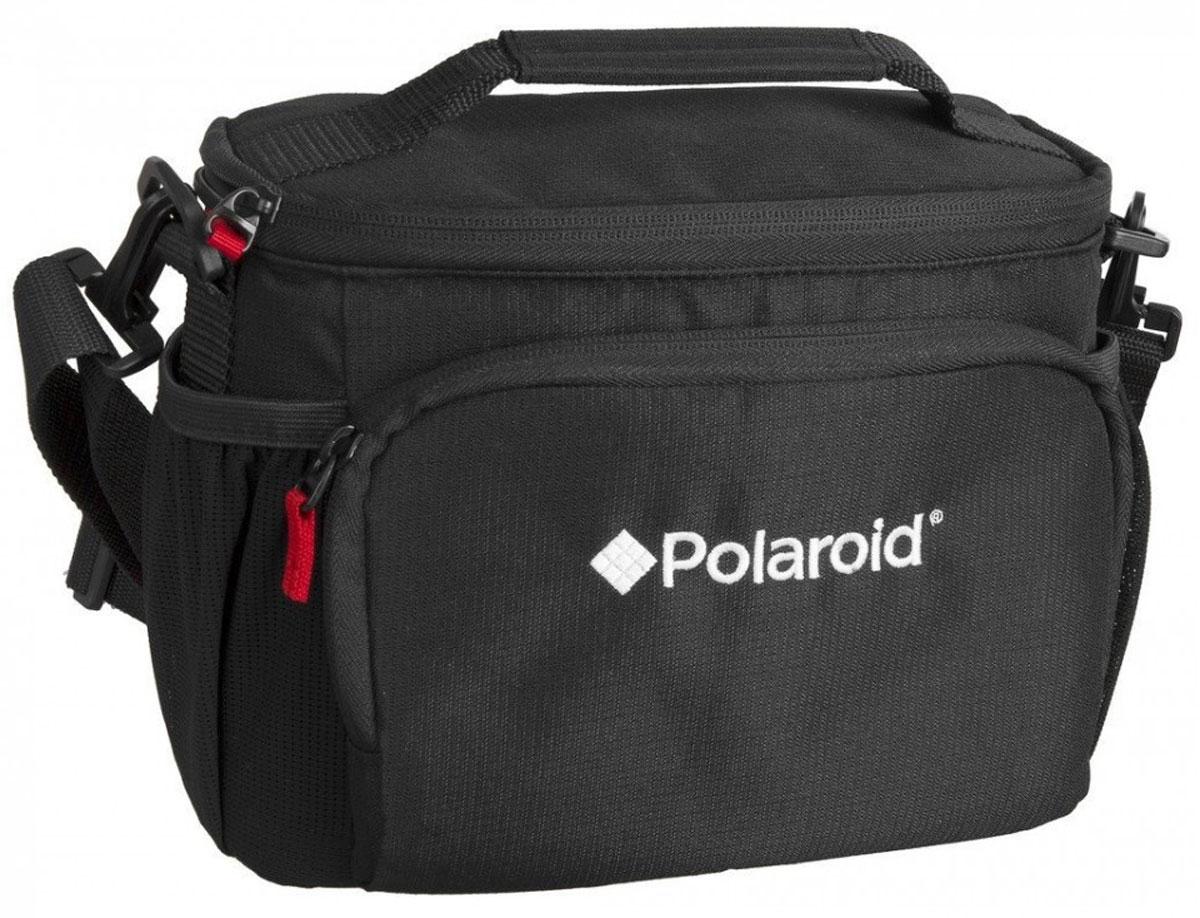 Polaroid JOZ 45 SLR Case сумка для фотокамерыPLJOZ45Регулируемые мягкие делители Polaroid JOZ 45 SLR Case обеспечивают надежную защиту вашего фотоаппарата от ударов. Передний карман вмещает карты памяти, аккумуляторы и другие мелкие предметы, а боковые карманы из сетки идеально держат телефон или Ipod. Регулируемый, съемный плечевой ремень и ручка для переноски обеспечивает удобные варианты ношения.