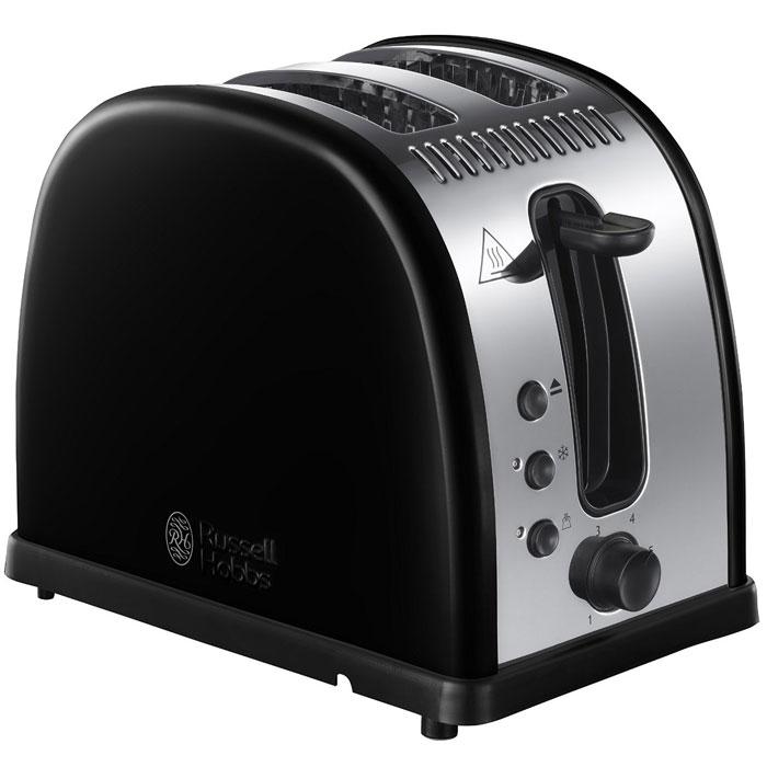 Russell Hobbs 21293-56 Legacy, Black тостер21293-56Мало времени с утра и нет возможности долго готовить любимые тосты? Вам понравится новый тостер Russell Hobbs 21293-56 Legacy с системой быстрого (до 55%) приготовления тостов. Поджаренные ломтики хлеба, так как вы их любите, будут готовы быстро и идеально. Широкие слоты позволят приготовить ломтики различной толщины или другие типы хлеба, допустим, булочки. Тостер Legacy также обладает функцией разморозки, разогрева и принудительной отмены программы приготовления. Тостер Russell Hobbs 21293-56 Legacy обладает специальным дизайном решетки для разогрева и будет прекрасным подарком для всех любителей поджаренных ломтиков. Решетка для разогрева также поможет сохранить температуру приготовленных ломтиков. Технология быстрого приготовления тостов Специально разработанный нагревательный элемент и улучшенная форма решетки гарантируют до 55% быстрее приготовление тостов. Идеально, когда необходимо приготовить тосты, но нет времени долго ждать. ...